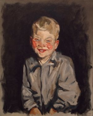 The Laughing Boy - Robert Henri