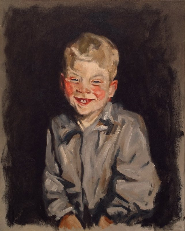 The Laughing Boy (naar Robert Henri)